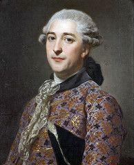 Alexander Roslin - Portrait of Prince Vladimir Golitsyn | da irinaraquel