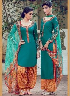 Intricate Multi Colour Designer Suit