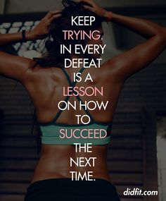 Keep Trying!  9Round in Northville, MI is a 30 minute full body workout with no class times and a trainer with you every step of the way! Visit www.9round.com/fitness/Northville-Michigan or call (734) 420-4909 if you want to learn more!