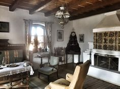 Home interior Country Cottages, Architectural Features, Traditional House, Anastasia, Rustic Decor, Interior And Exterior, House Design, Homes, Interiors