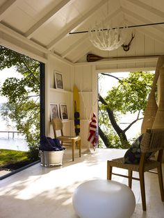 Thom Filicia ~ boathouse chic