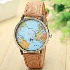 The Original Globetrotter World Traveler Watch - FREE WORLDWIDE SHIPPING!