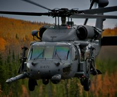 An Alaska Air National Guard HH-60. Photo by MSgt Sean Mitchell.