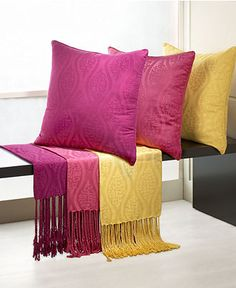 Natori Bedding, Ogee Throw - Throws & Decorative Pillows - for the home - Macy's