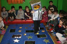 Μαθαίνουμε για τα αστέρια, τον ήλιο και τη γη στο νηπιαγωγείο Θεσσαλονίκης Ο Μικρός Μαέστρος