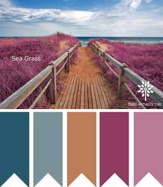 Sea Grass color palette by Bath Alchemy Lab - perfect color inspiration for your spring line!