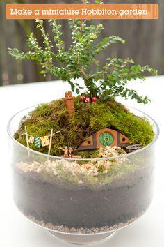 Make Your Own Hobbiton Miniature Garden!