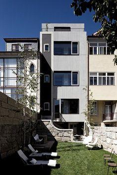 Casa do Conto artsresidence, Porto, 2011 - Pedra Liquida (Liquid Kamień)