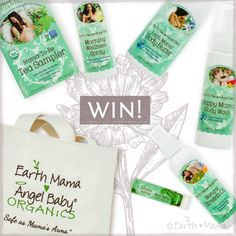 Win Mama's Pregnancy Essentials Bundle! Filled with Earth Mama's effective herbal products to help ease pregnancy's common discomforts, from worried head to itchy, stretching skin to queasy belly! Happy Mama Body Wash, Morning Wellness Spray, Natural Stretch Oil, Earth Mama Body Butter, Mint Herbal Lip Balm and USDA Certified Organic, Non-GMO Project Verified and Certified …