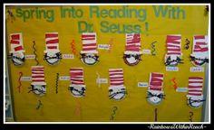 preschool christmas bulletin board ideas   Dr. Seuss Cat in the Hat Bulletin Board (from Bulletin Board RoundUP ...