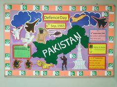 Elegant DEfence Day Of Pakistan Board By Sunera Saleem