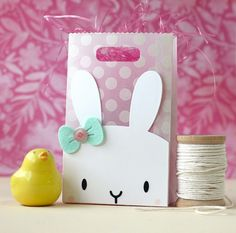 Mama Elephant-Bunny Favor Bag Accessories, His Love   Laura Bassen