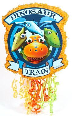 Dinosaur Train Pull-String Pinata from BirthdayExpress.com