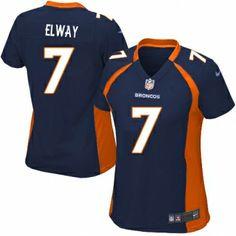 Womens Elite John Elway Jersey Nike Denver Broncos 7 Alternate Navy Blue NFL Jerseys [67504] - $24.99 : Nike NFL Jerseys, Buy Official Nike Elite, Game, Limited NFL Jerseys With 50% Off