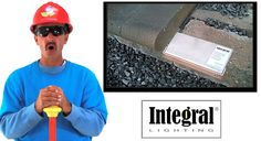 Integral Lighting Video Icon Watch the video here Led Wall Lights, Wall Lighting, Landscape Lighting Kits, Watch, Clock