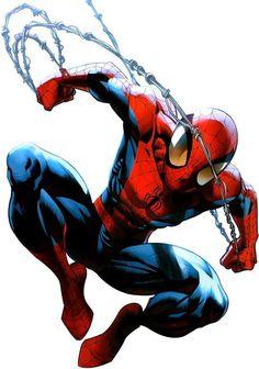 Spiderman by Mark Bagley Marvel Comics, Hq Marvel, Marvel Memes, Amazing Spiderman, Spiderman Spider, Spiderman Pics, Parker Spiderman, Spiderman Marvel, Ultimate Spider Man