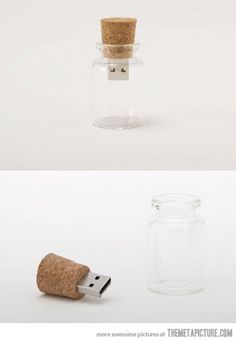 Message in a bottle.  This would be really cool to make for the end of a scavenger hunt.