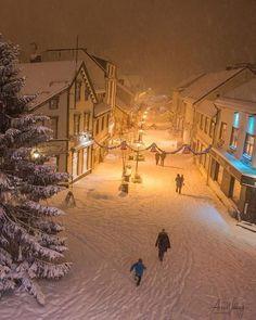 Winter in Harstad. Winter Szenen, I Love Winter, Winter Magic, Winter Night, Winter Time, Winter Christmas, Xmas, Christmas Time, Minimal Christmas
