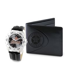 Houston Astros MLB Men's Watch & Wallet Set