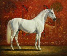 Portrait in oils of The horse Gandalf by artist Jaime Corum. Pretty Horses, Beautiful Horses, Horse Artwork, Horse Paintings, Oil Paintings, Unicorn Tapestries, Oil Pastel Colours, Horse Portrait, Pencil Portrait