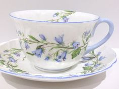 Harebell Shelley Tea