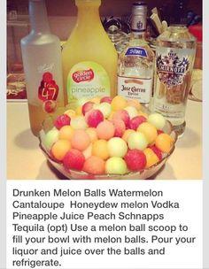 Drunken Melon Balls Recipe#All#Trusper#Tip