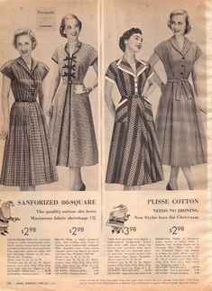S Sears Womens Clothing Ads