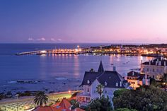 Cascais, Portugal. A really cool fishing town and you can watch the fishermen in the bay way into the wee hours of the morn...