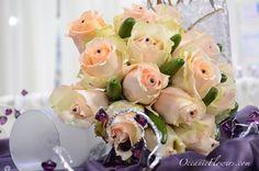 Soft Pink, Off White Bridal Bouquet