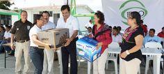 Reciben equipamiento de cómputo planteles del IEBO ubicados en la región Istmo