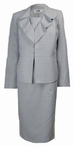 Le Suit Women's Business Suit Jacket Dress Set