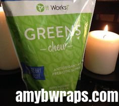 I cannot stress enough how important it is to get your daily GREENS. Just 2 chews, are your daily serving of fruits and vegetables. This product has been so amazing, testimonies of replacing prescription medication with GREENS, is absolutely amazing. Helps clear digestive issues, skin issues, curbs cravings, helps fight free-radical damage, boosts your natural energy. A MUST have! Kids will love it!!!!!  Message me now, 209-247-5516