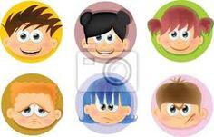 Resultado de imagen para dibujos de caras mostrando emociones