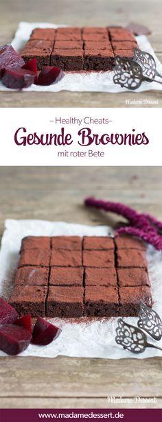 Rezept für gesunde Brownies mit roter Bete – Bitte waaaaaas?!?!