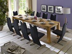 Stół drewniany PAOLA 200(300)x100 cm