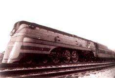 The Milwaukee road's crack Hiawatha trains were homegrown streamliners. The cowling on the locomotive suggested speed and made it resemble a diesel locomotive. These trains routinely hit 100 mph. Diesel Locomotive, Steam Locomotive, Milwaukee Road, Exotic Art, Great Depression, Round House, Steam Engine, Train Tracks, Train