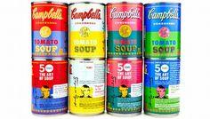 Campbell's retribui a Warhol criando uma coleção especial de latas que começaram a ser vendidas ontem na rede Target