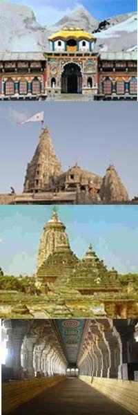 Hindu Blog: Four Important Temples Dedicated to Hindu God Vishnu – Chardham of Vishnu
