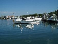 Fishing boats in Menemsha Harbor, Martha's Vineyard
