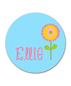 Flower Personalized Plate by Print the Party Color Me Mine, Personalized Plates, Create, Party, Flowers, Parties, Royal Icing Flowers, Flower, Florals