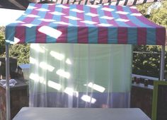 Step by Step on how to make a party table canopy! { Miss Party Mom's } How-To PVC Canopy Tutorial