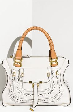 Chloé 'Marcie Animation - Medium' Leather Shoulder Bag
