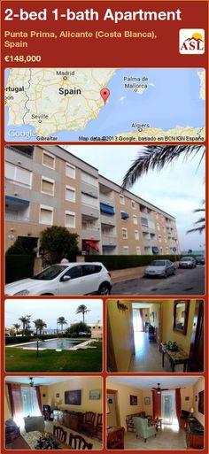2-bed 1-bath Apartment in Punta Prima, Alicante (Costa Blanca), Spain ►€148,000 #PropertyForSaleInSpain