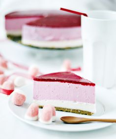 "Tarta ""Besitos de fresa"" ~ a strawberry flavoured cheesecake, with translator"