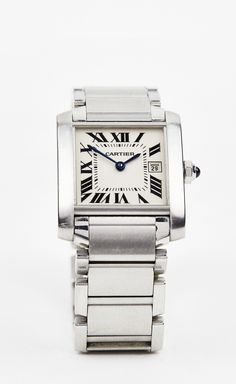 Cartier Silver Watch | VAUNTE
