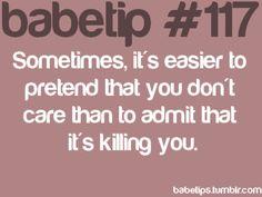 Babe tips
