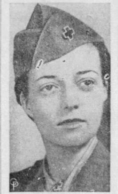 Jean Gordon. Group L Clubmobiler. She was Patton's niece.
