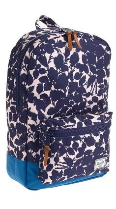 Herschel Supply Co.® settlement backpack in floral colorblock
