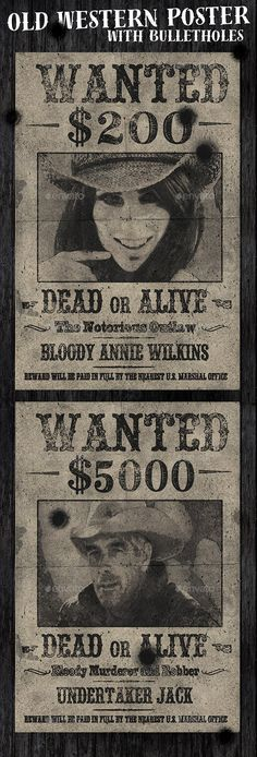 Wanted Poster Template PSD Resources Pinterest Poster - most wanted poster templates