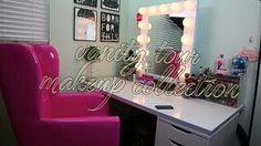 Nicole Guerriero (youtube makeup artist) vanity LOVE!!